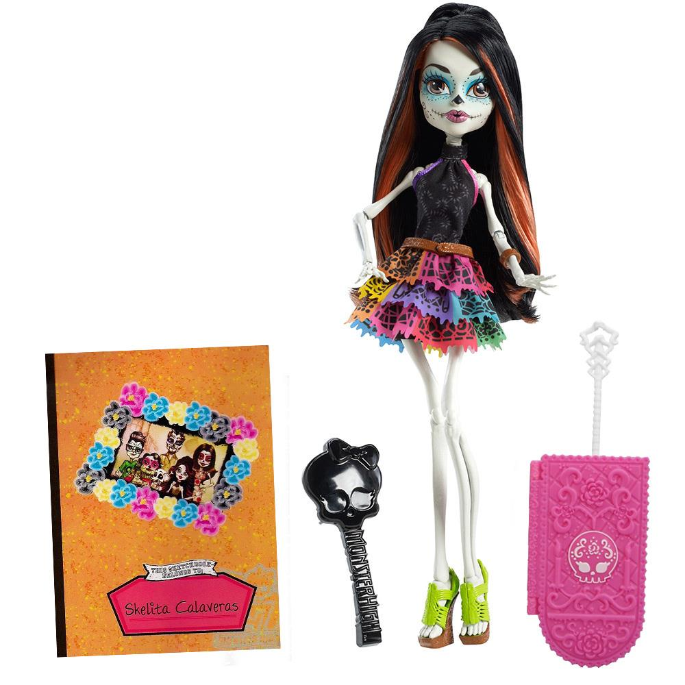 Boneca-Monster-High-Scaris-Skelita-Calaveras-Mattel