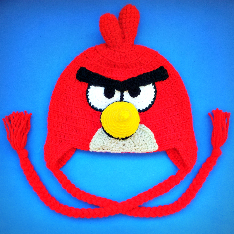 touca do Angry Birds está à venda na loja da Koki, é só clicar
